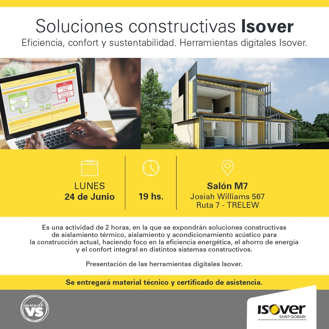 Soluciones Isover Banner